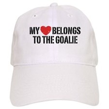 My Heart Belongs To The Goalie Baseball Baseball Cap