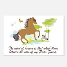 Wind of Heaven - Paso Fin Postcards (Package of 8)