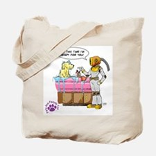 Groomer Humor - Battle Ready Tote Bag
