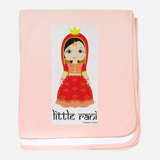 Little Rani baby blanket