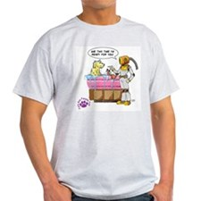 Groomer Humor - Battle Ready Ash Grey T-Shirt