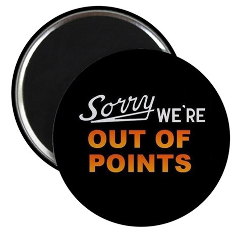 Out of Points Magnet