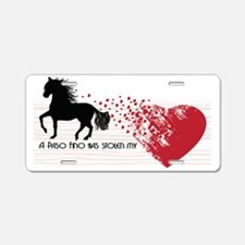 A Paso Fino Has Stolen My H Aluminum License Plate