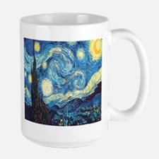 starry night van gogh Mugs