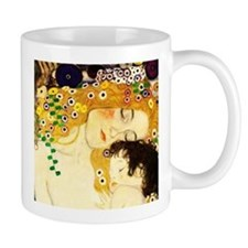 Gustav Klimt Mother and Child Mugs
