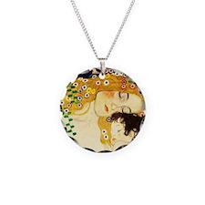 Gustav Klimt Mother and Child Necklace