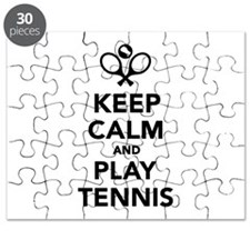 Keep calm and play Tennis Puzzle