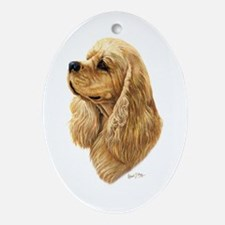 Cocker Spaniel (American) Ornament (Oval)