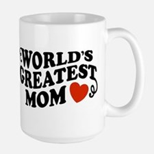 World's Greatest Mom Large Mug