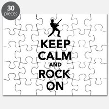 Keep calm and Rock on Puzzle