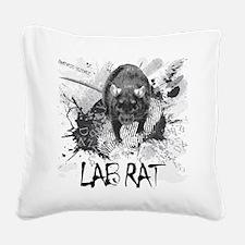 Lab Rat Square Canvas Pillow