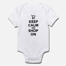 Keep calm and shop on Infant Bodysuit