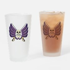 BW Drinking Glass