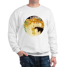 Gustav Klimt Mother and Child Sweatshirt