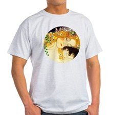 Gustav Klimt Mother and Child T-Shirt