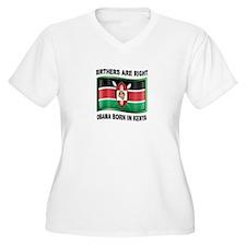 KENYAN BARACK Plus Size T-Shirt