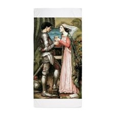 Tristan and Isolde Beach Towel