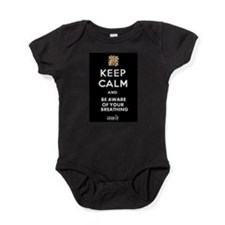 BE AWARE OF YOUR BREATHING WHITE Baby Bodysuit