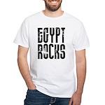 Egypt Rocks White T-Shirt