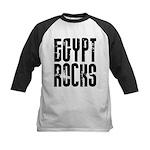 Egypt Rocks Kids Baseball Jersey