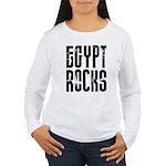 Egypt Rocks Women's Long Sleeve T-Shirt