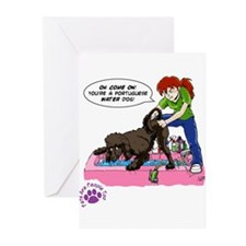 Groomer Humor - Reluctant Bat Greeting Cards (Pack