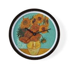 Vincent van Gogh Sunflowers Wall Clock