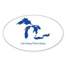 Let's Keep Them Great Decal