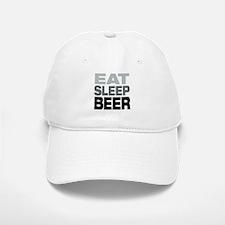 Eat Sleep Beer Baseball Baseball Baseball Cap