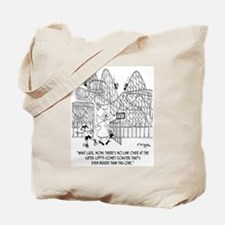 What Luck! No Line. Tote Bag