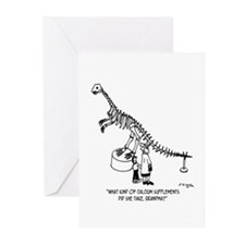 Two Lines Name Greeting Cards (Pk of 10)