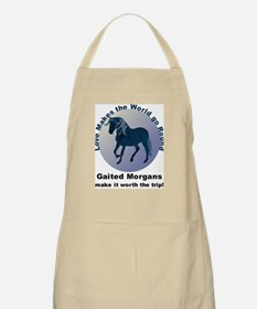 Gaited Morgans Worth the Trip! BBQ Apron