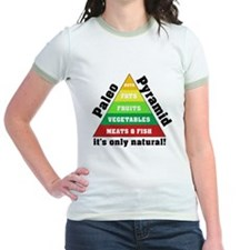 Paleo Pyramid - Natural T
