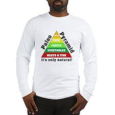 Paleo Pyramid - Natural Long Sleeve T-Shirt