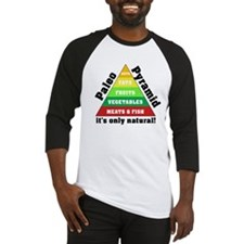Paleo Pyramid - Natural Baseball Jersey
