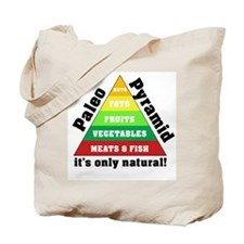 Paleo Pyramid - Natural Tote Bag
