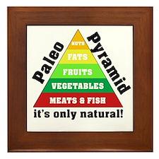 Paleo Pyramid - Natural Framed Tile