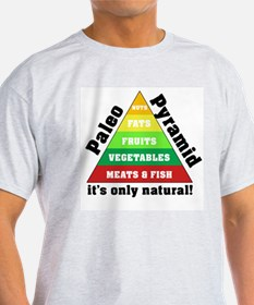 Paleo Pyramid - Natural T-Shirt