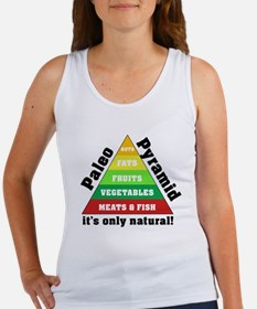 Paleo Pyramid - Natural Women's Tank Top