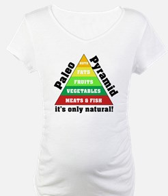 Paleo Pyramid - Natural Shirt