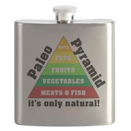Paleo Pyramid - Natural Flask