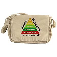 Paleo Pyramid - Natural Messenger Bag