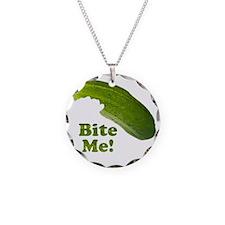 Bite Me! Pickle Necklace