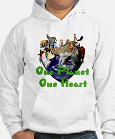 One Planet One Heart Hoodie