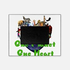 One Planet One Heart Picture Frame