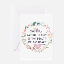Beauty of the Heart Greeting Cards
