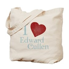 i_love_edward_cullen-black-vintage Tote Bag