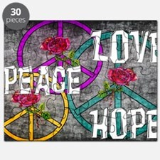 Love Peace Hope Puzzle