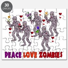 Peace Love Zombies Puzzle