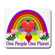 One People One Planet Mousepad